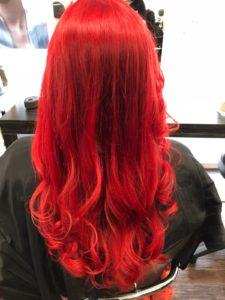 Friseur Wettbewerb // Haare selber färben nachher Foto