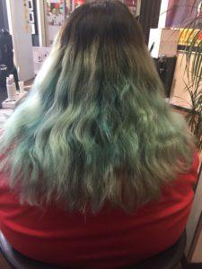 Haare selber färben vorher Foto