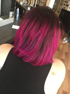Haare selber färben nachher Foto