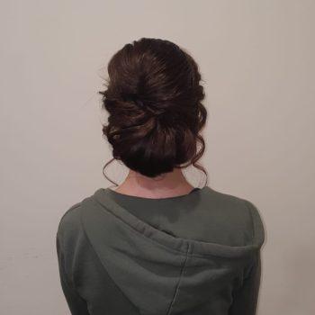 Hochsteckseminar Frisur