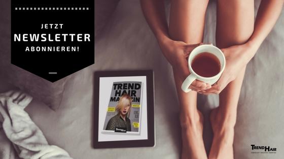 Friseur Trend Hair Newsletter Grafik für FB Anmelden