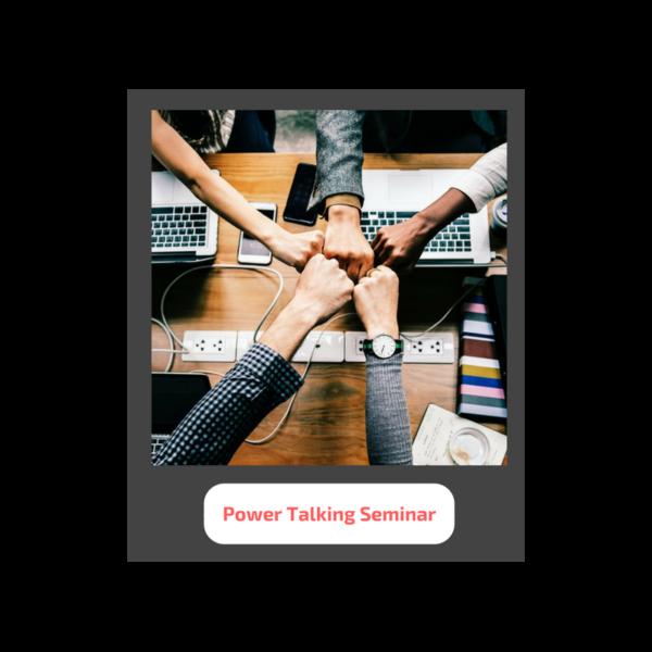 power talking seminar - Seminare für Friseure