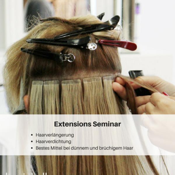 Weiterbildung Friseur, Friseur Weiterbildung, Weiterbildung für FriseureSeminare für Friseure Extensionsseminar