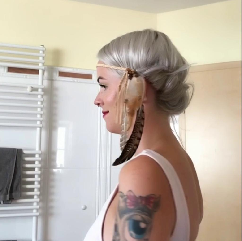 Wie mache ich eine Festival Frisur bei mir?